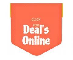 click for deals online/ best deals online/ hot deals online